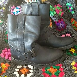 Slouchy Harley Davidson Boots